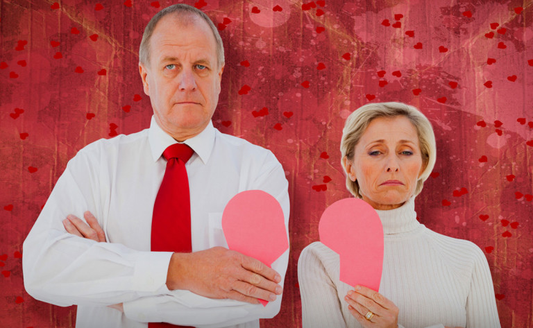 Baby Boomers Divorce Rate Doubled